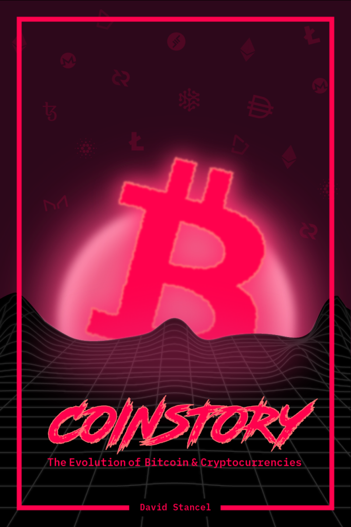 Coinstory Book Cover by David Stancel